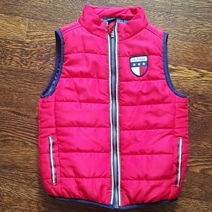 TH toddler puffy vest